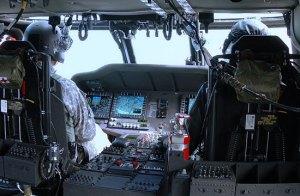 UH-60M Cockpit layout